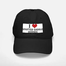 SPOTTED SADDLE HORSES Baseball Hat