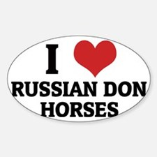 RUSSIAN DON HORSES Decal