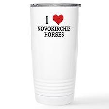 NOVOKIRGHIZ HORSES Travel Mug