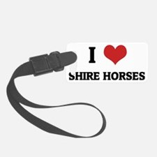 SHIRE HORSES1 Luggage Tag