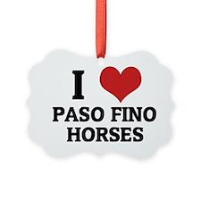 PASO FINO HORSES Ornament
