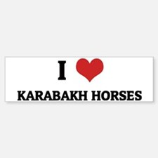 KARABAKH HORSES Bumper Bumper Sticker