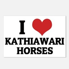 KATHIAWARI HORSES Postcards (Package of 8)