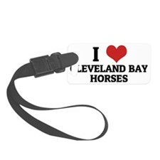 CLEVELAND BAY HORSES Luggage Tag
