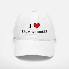 BRUMBY HORSES Baseball Baseball Cap