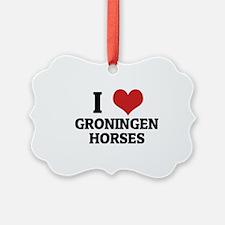 GRONINGEN HORSES Ornament