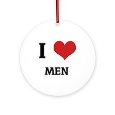 MEN Round Ornament