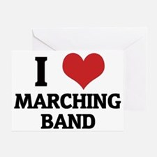 MARCHING BAND Greeting Card