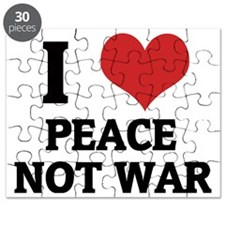 PEACE NOT WAR Puzzle