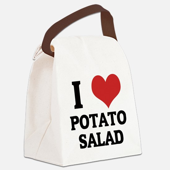 POTATO SALAD Canvas Lunch Bag