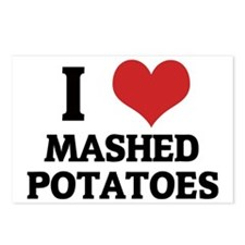MASHED POTATOES Postcards (Package of 8)