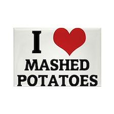 MASHED POTATOES Rectangle Magnet