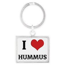 HUMMUS Landscape Keychain
