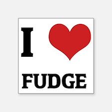 """FUDGE Square Sticker 3"""" x 3"""""""