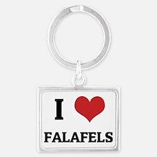 FALAFELS Landscape Keychain