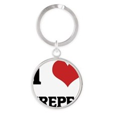 CREPES Round Keychain