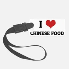 CHINESE FOOD Luggage Tag