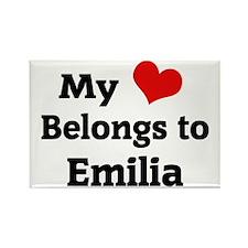 emilia1 Rectangle Magnet