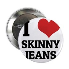 """SKINNY JEANS 2.25"""" Button"""