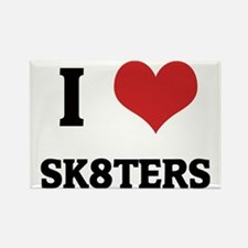 SK8TERS Rectangle Magnet