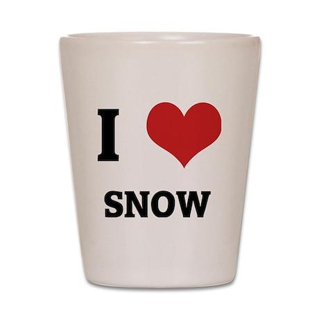 SNOW Shot Glass
