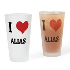 ALIAS Drinking Glass