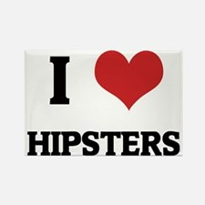 HIPSTERS_1 Rectangle Magnet