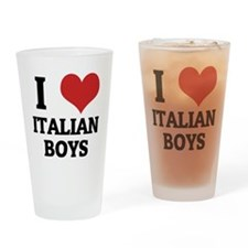ITALIAN BOYS Drinking Glass