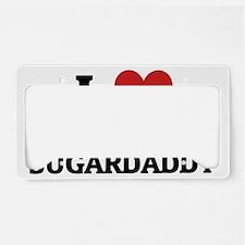 MY SUGARDADDY License Plate Holder