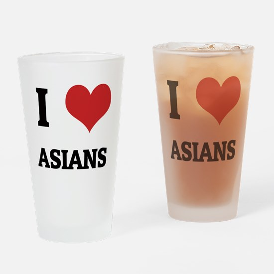 ASIANS Drinking Glass