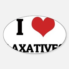 LAXATIVES Decal