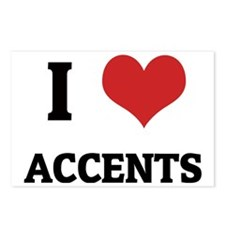 ACCENTS Postcards (Package of 8)