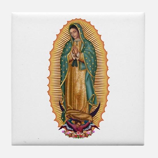 La Guadalupana Tile Coaster