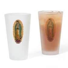 La Guadalupana Drinking Glass