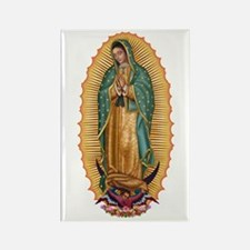 La Guadalupana Rectangle Magnet