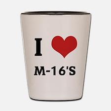 M-16S Shot Glass