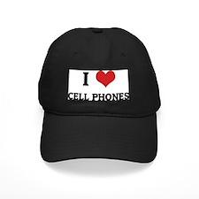 CELL-PHONES Baseball Hat