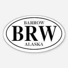 Barrow Oval Decal