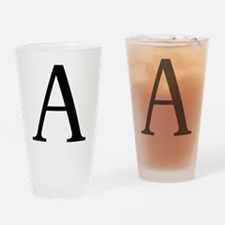 alpha Drinking Glass