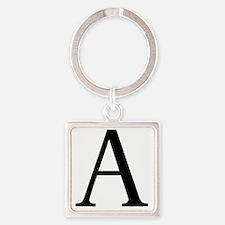 alpha Square Keychain