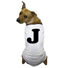 LetterJ Dog T-Shirt