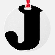 LetterJ Ornament