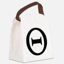 theta Canvas Lunch Bag