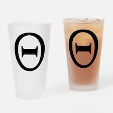 theta Drinking Glass