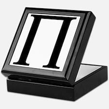 pi Keepsake Box