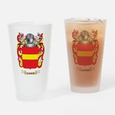 Lance Coat of Arms - Family Crest Drinking Glass
