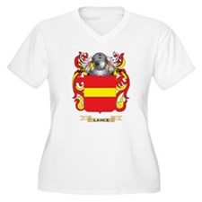 Lance Coat of Arms - Family Crest Plus Size T-Shir