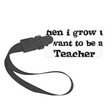 Teacher Luggage Tag