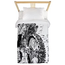 Motor Cross Twin Duvet