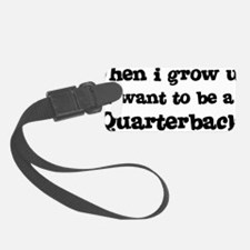 Quarterback Luggage Tag